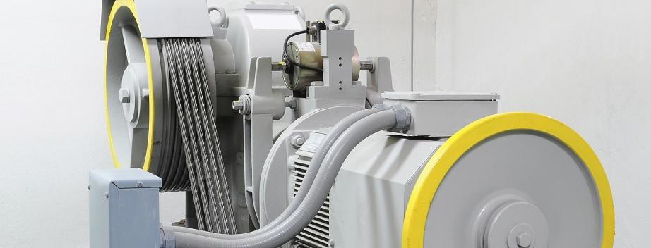 Aufzugsantrieb von Aufzugtechnik Burghartz