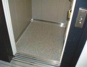 Kabinenboden für Aufzüge von Aufzugtechnik Burghartz