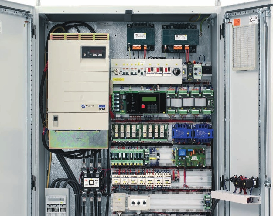 Aufzugssteuerung von Aufzugtechnik Burghartz